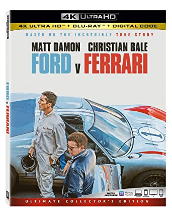 Ford V Ferrari 4k Ultra Hd Blu Ray Amazon De Dvd Blu Ray
