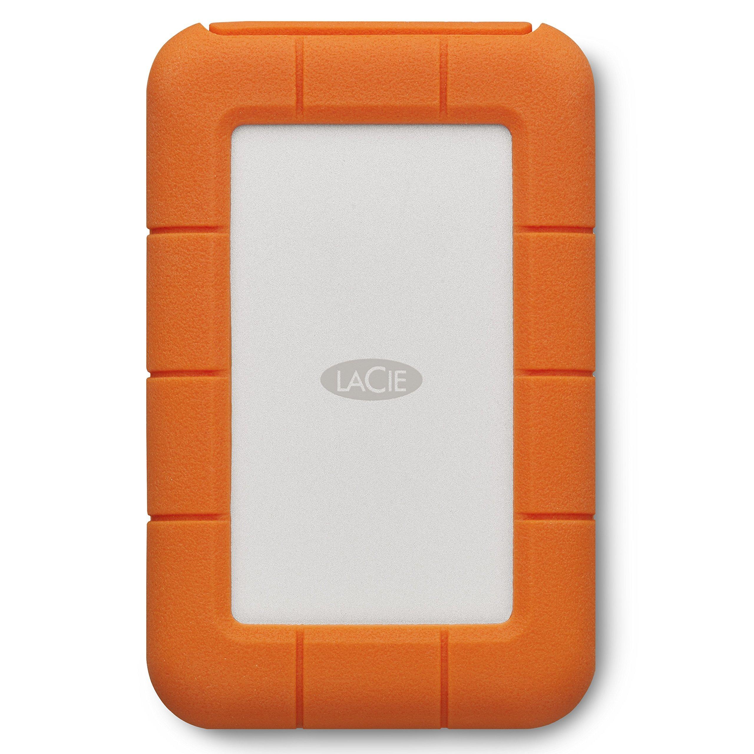 LaCie Rugged 2TB Thunderbolt USB-C Portable Hard Drive (STFS2000800) (Renewed) by LaCie (Image #4)