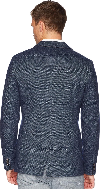 a75d8cbd7927 Ted Baker Men s Beek Two-Button Blazer Navy 6  Amazon.co.uk  Clothing