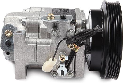 Automuto Compresor De Aire Acondicionado Para Mazda Protege Protege5 2 0l 01 02 03 Compatible Con El Conjunto De Compresores De Reparación Automática Co 10763c Automotive