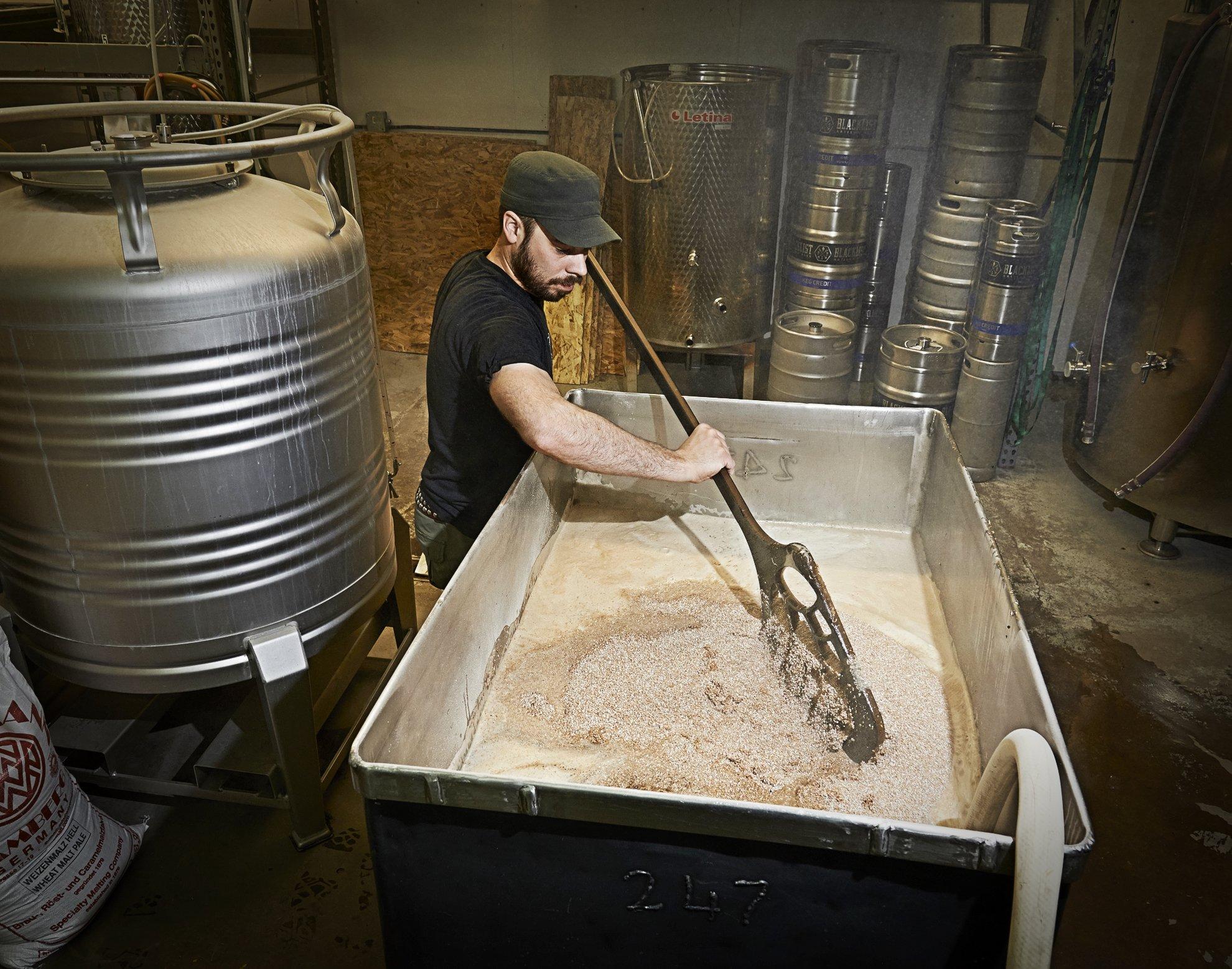 Epicurean Professional-Grade Brewers Mash Paddle (59 X 10 3/4 Inch, Slate/Nutmeg) by Epicurean (Image #4)