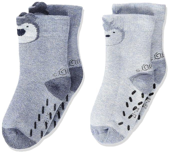 Oliver Socks S20562, Calcetines Unisex bebé, Blau (Ciel Melange 5200)