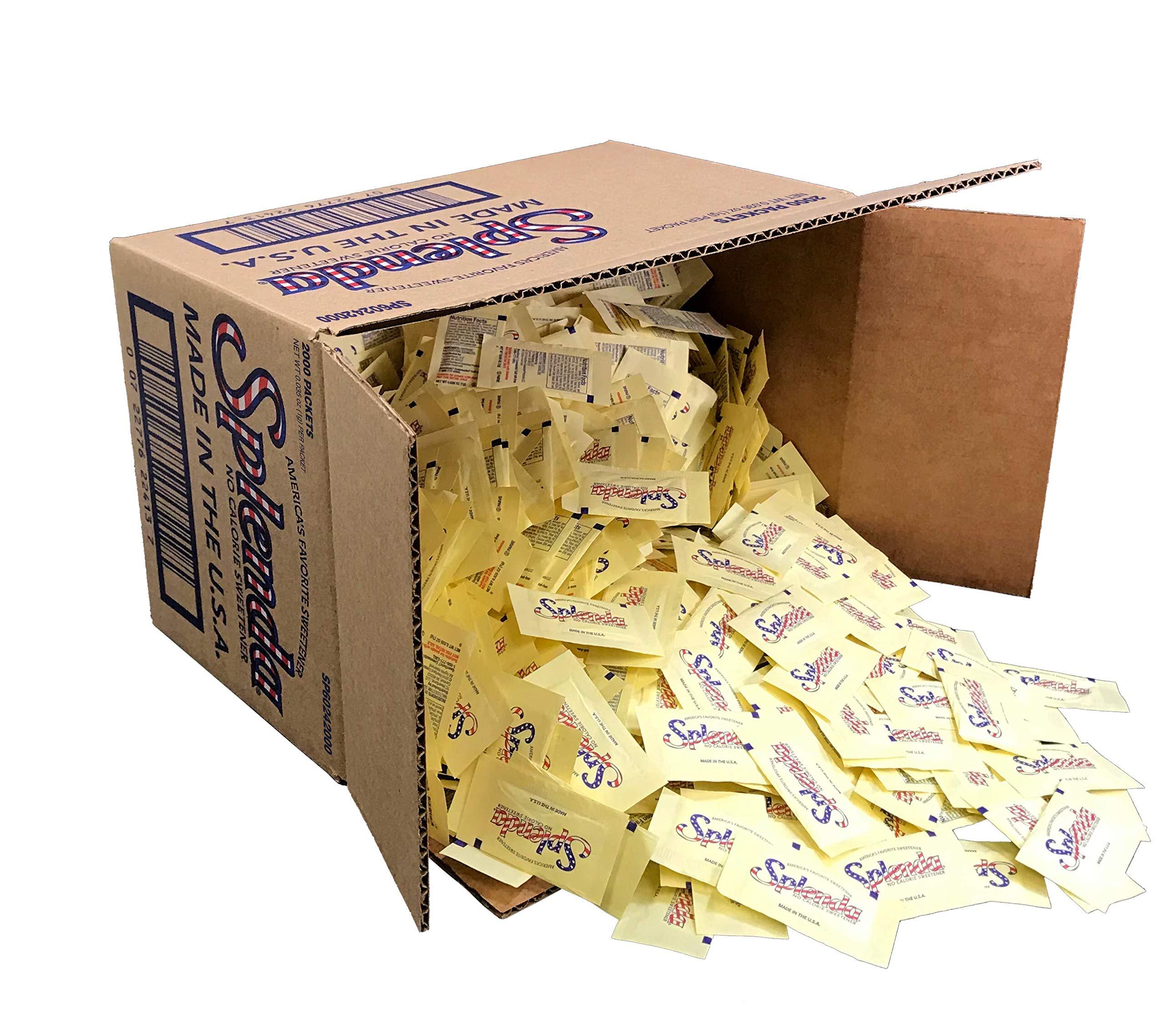 SPLENDA No Calorie Sweetener, Single-Serve Packets (2000 Count) by Splenda