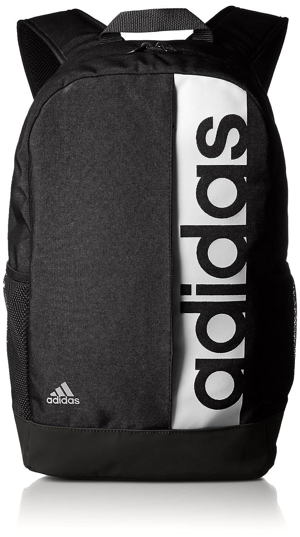 adidas Linear Performance Rucksack Black/White 16 x 28 x 46 cm ADIEY|#adidas S99967