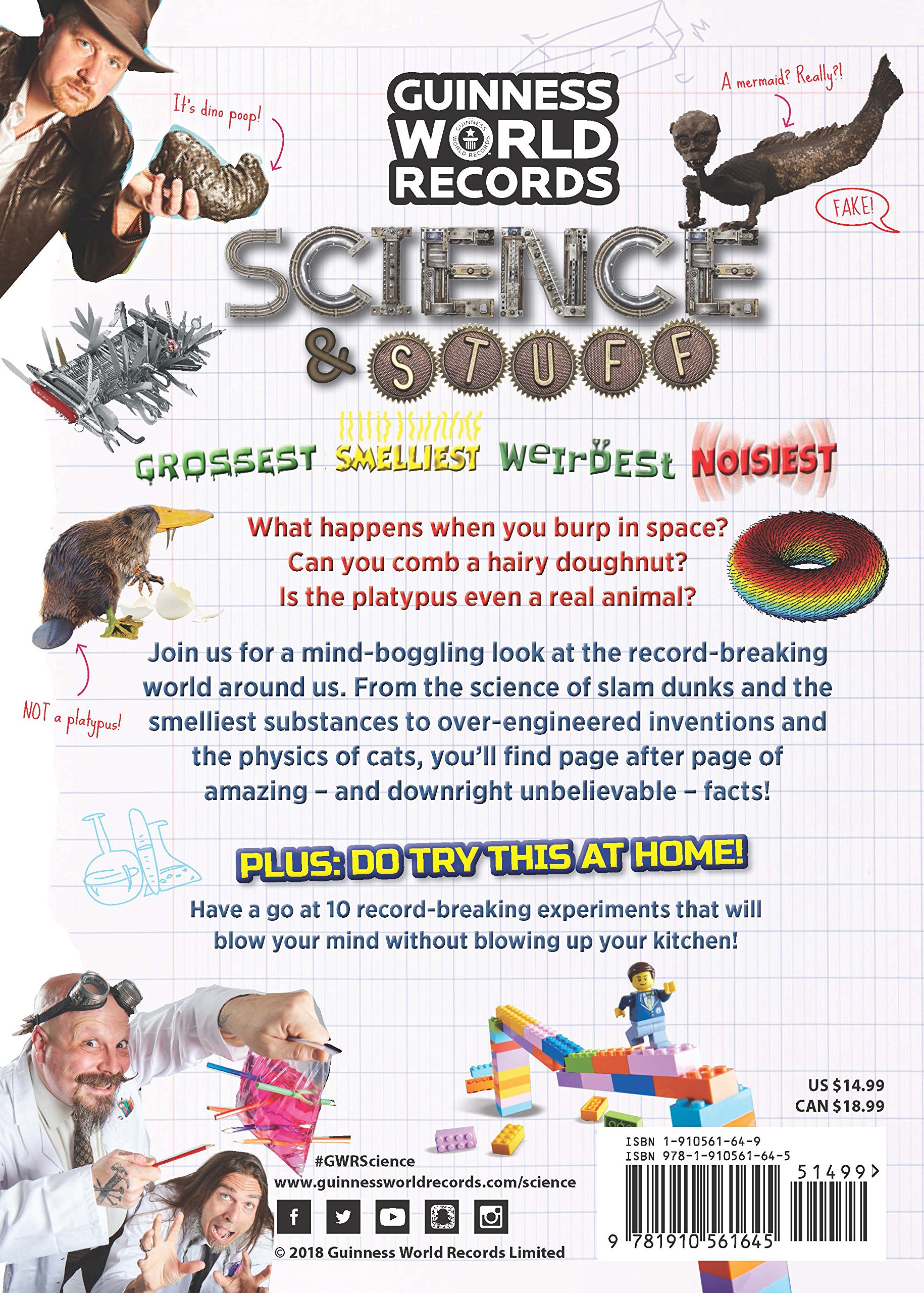 guinness world records science stuff guinness world records 9781910561645 books amazonca