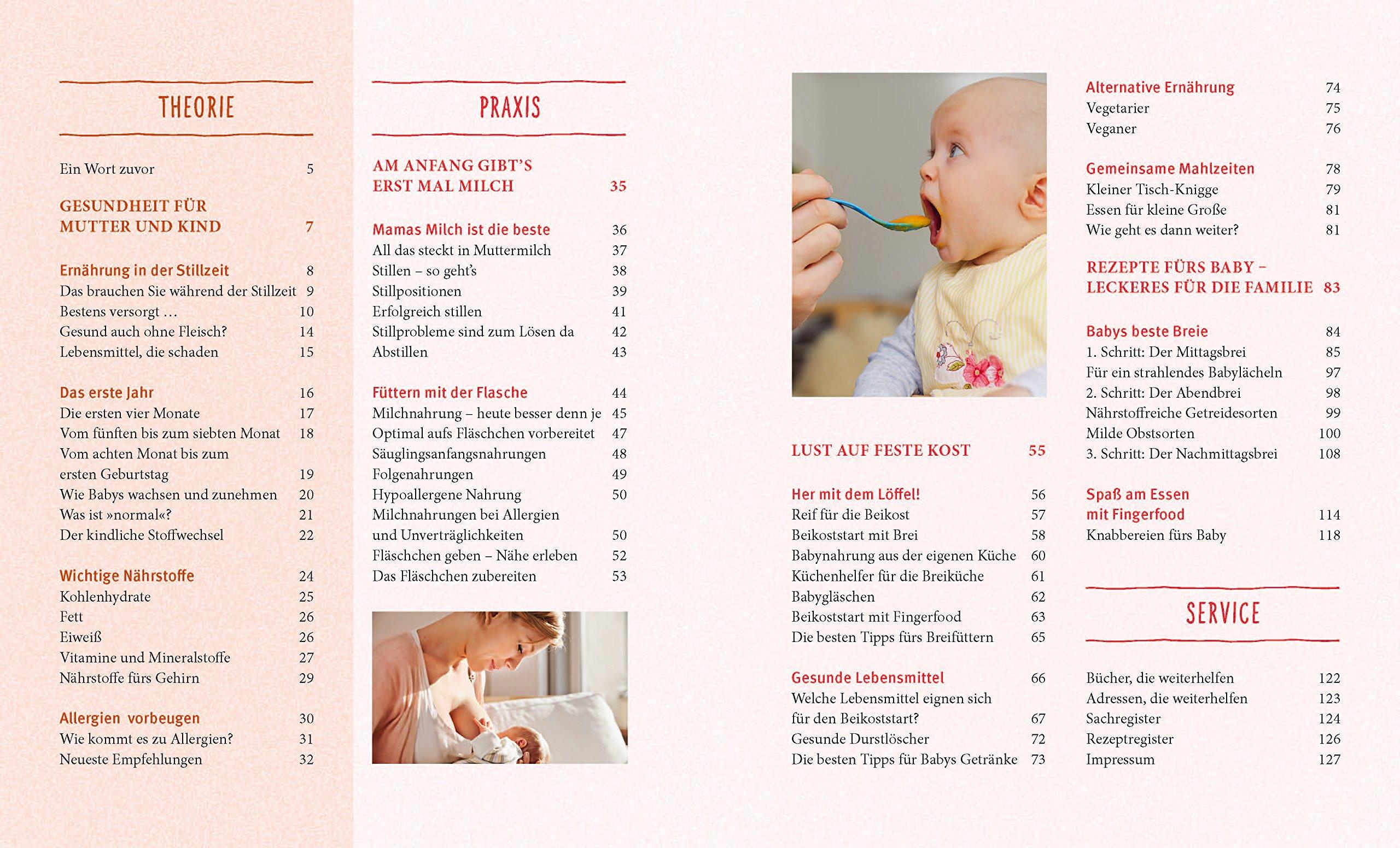 Babyernährung: Gesund und lecker durchs erste Jahr: Amazon.de ...