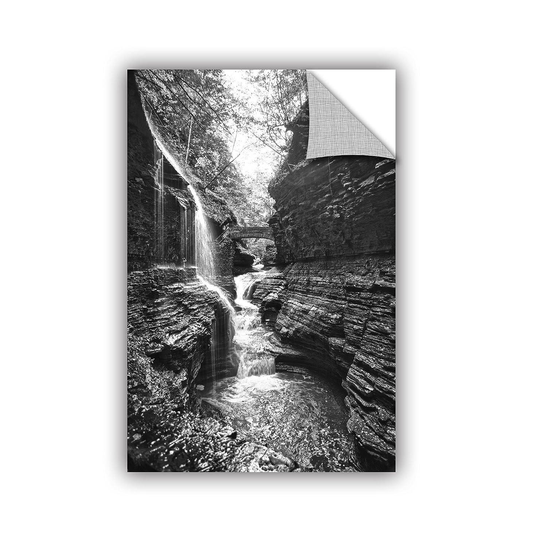 12 by 18-Inch ArtWall Dan Wilsons New York-Watkins Glen Art Appeelz Removable Graphic Wall Art