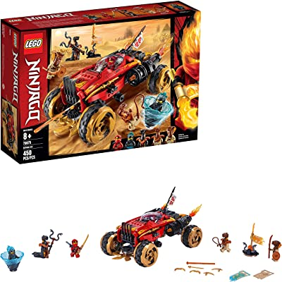 LEGO NINJAGO Katana 4x4 70675 Building Kit (450 Pieces): Toys & Games