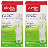 Amazon Price History for:Playtex Baby Nurser Drop-Ins Baby Bottle Disposable Liners, Closer to Breastfeeding, 8 Ounce - 200 Count