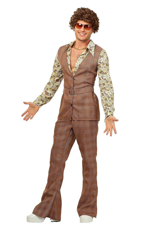 Men's 70's Vest Fancy dress costume Large