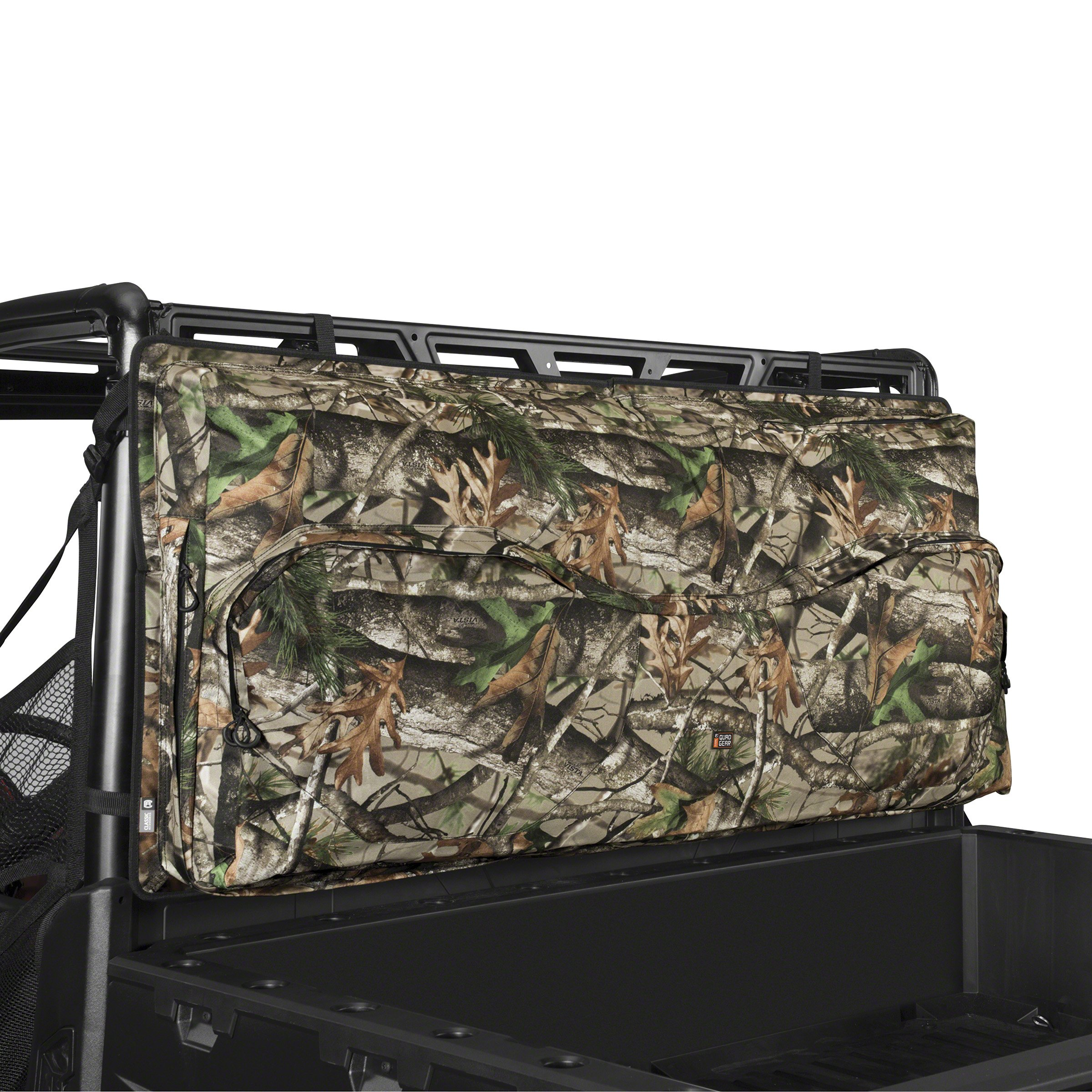 Classic Accessories 18-126-016001-00 Next Vista G1 Camo QuadGear UTV Deluxe Double Gun Carrier (For Most UTV Roll Cages) by Classic Accessories