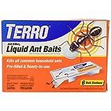 Terro Liquid Ant Killer Baits( 6 Bait Stations Net Contents 2.2fl.oz/0.36fl.oz)