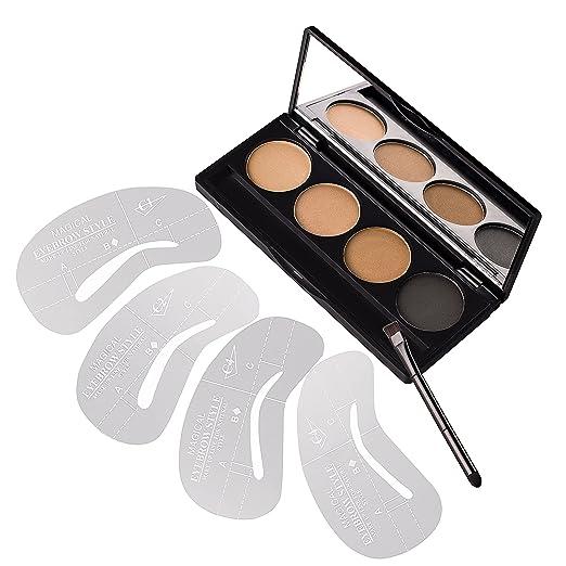 14 opinioni per VALUE MAKERS 4 Kit Sopracciglia Colore- polvere di trucco sopracciglia + 4