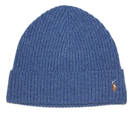 08a71264 Image Unavailable. Image not available for. Color: Polo Ralph Lauren Winter  Hat Wool Beanie Cap