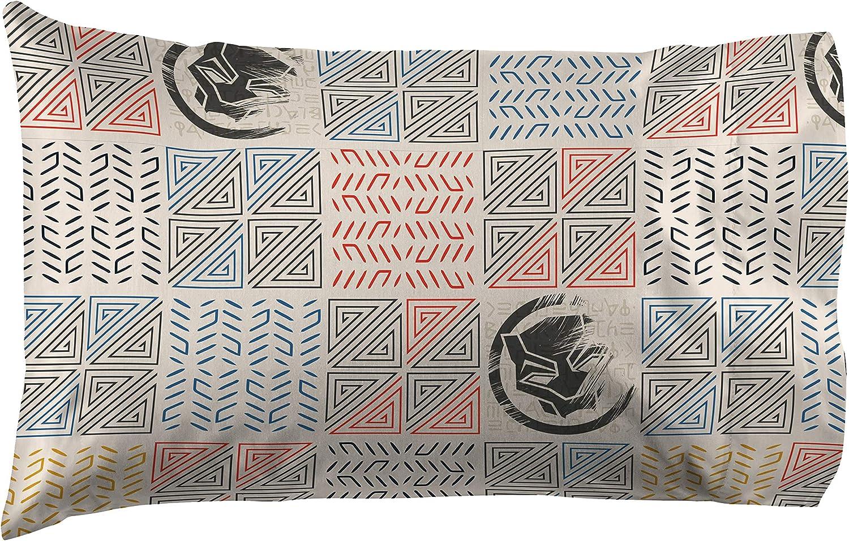 Includes Comforter /& Sheet Set Jay Franco Marvel Black Panther Tribal 5 Piece Full Bed Set Super Soft Fade Resistant Polyester - Official Marvel Product