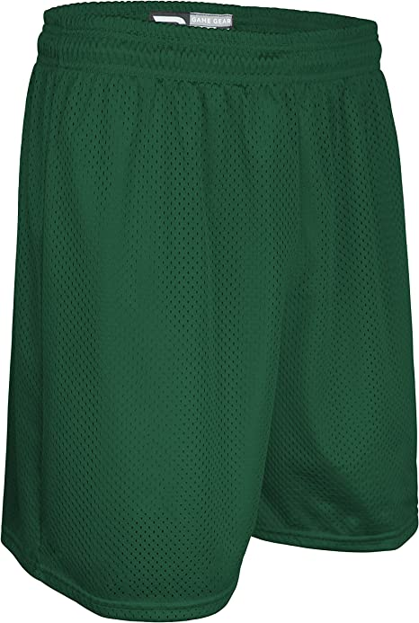 Game Gear AM6475Y Youth Boys and Girls Solid Color Performance Nylon Mesh Sport Short
