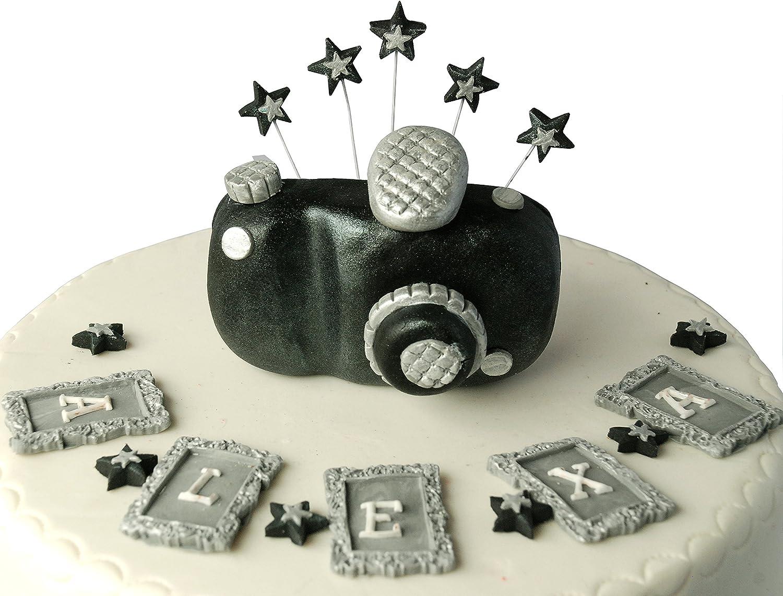 Brilliant Personalised Edible Camera Birthday Handmade Sugarpaste Cake Funny Birthday Cards Online Benoljebrpdamsfinfo
