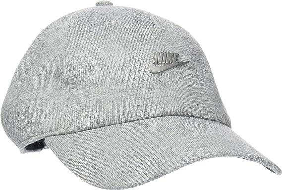 Nike Sportswear Heritage86 Gorra Hombre Gris Ajustable: Amazon.es ...