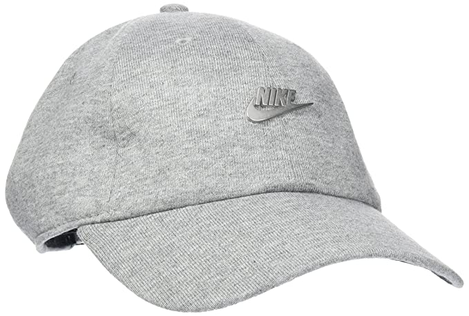 NIKE NSW H86 Metal Futura Unisex Adjustable Hat Cap Grey/Silver 891287-063 (