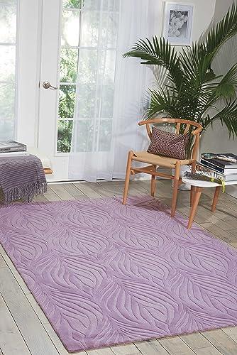 Nourison Contour Lavender Rectangle Area Rug