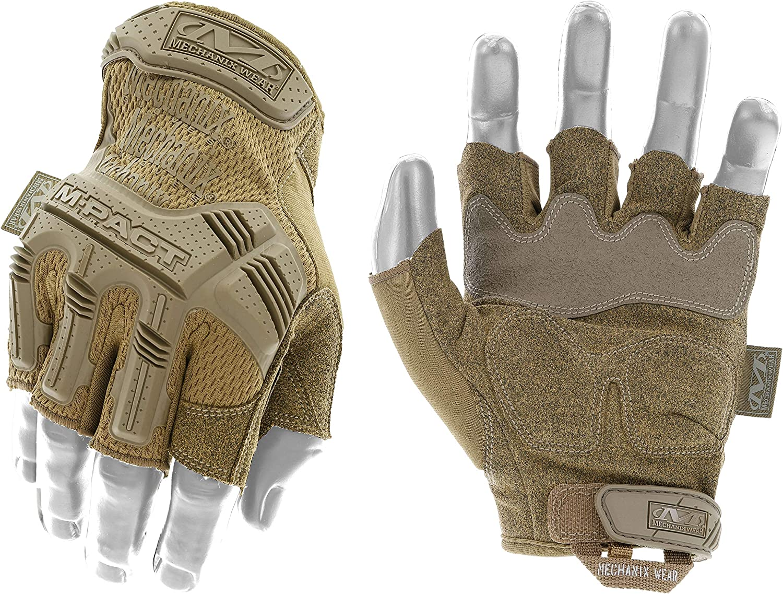 Mechanix Wear M Pact Coyote Fingerlose Handschuhe Medium Coyote Beige Baumarkt