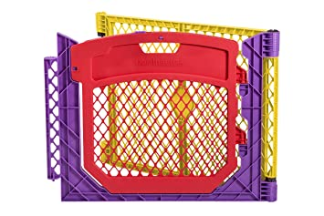 Marvelous North States Superyard Colored Play Door With 2 Panel Extension