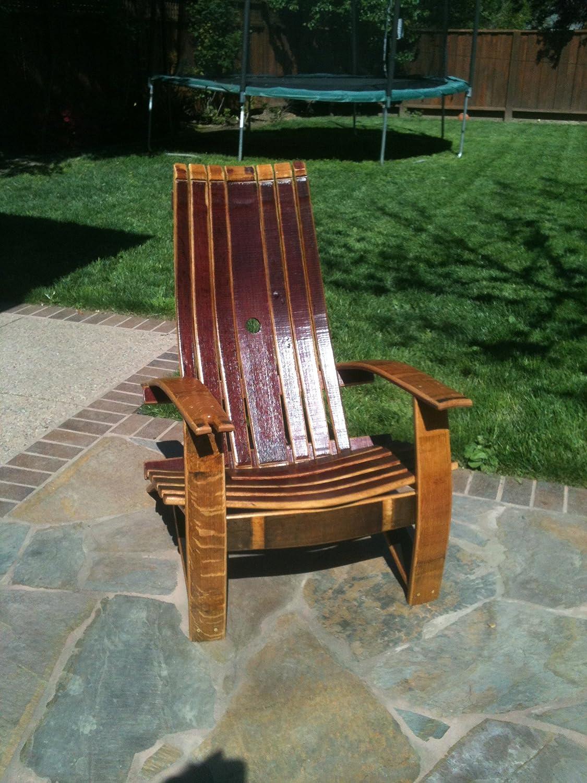 Wine barrel rocking chair - Wine Barrel Rocking Chair 46