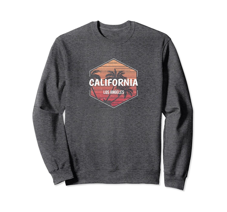 Los Angeles Vacation Sweatshirt Family Retro Apparel-fa