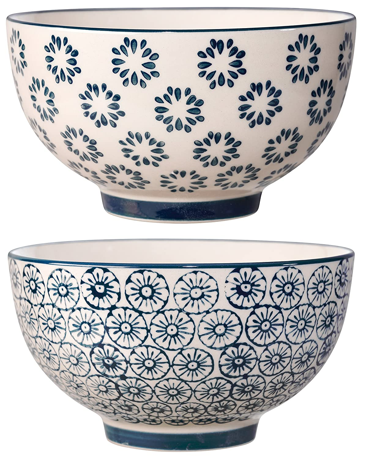 Bloomingville Cereal Bowls Kristina Set of 2 Styles