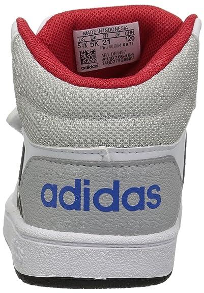 low priced b0289 67a4d adidasDB1487 - Vs Hoops Mid 2.0 I - Montantes (mi-Tige) Fillegarçon  Amazon.fr Chaussures et Sacs