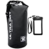 Premium Waterproof Bag, Sack with phone dry bag and long adjustable Shoulder Strap Included, Perfect for Kayaking/Boating / Canoeing/Fishing / Rafting/Swimming / Camping/Snowboarding