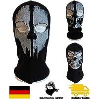 Bandana fantasma Guru pasamontañas, Máscara de calavera, Mascara