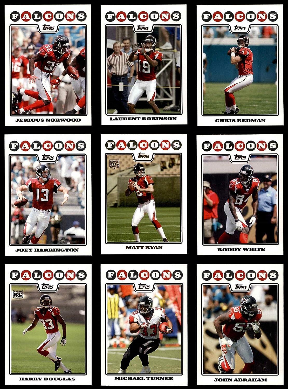 2008 Topps Atlanta Falcons Team Set Atlanta Falcons (Baseball Set) Dean's Cards 8 - NM/MT Falcons 91TOUAL6J5L