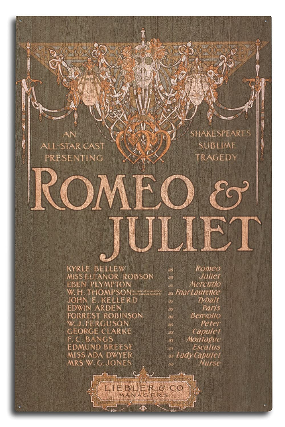 Amazon.com: Shakepeare\'s Sublime Tragedy Romeo and Juliet Poster ...
