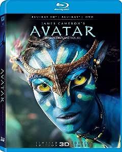 Avatar (Limited 3D Edition) [Blu-ray 3D + Blu-ray + DVD] (Bilingual)