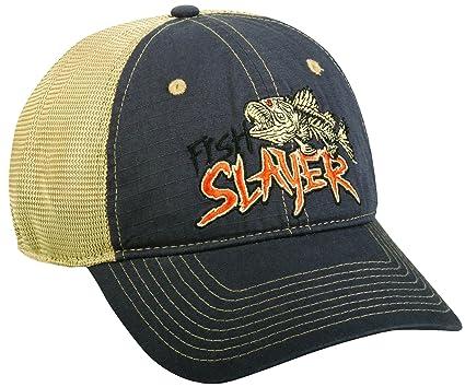 e6e1b8b951f Amazon.com  Outdoor Cap Fish Slayer Cap