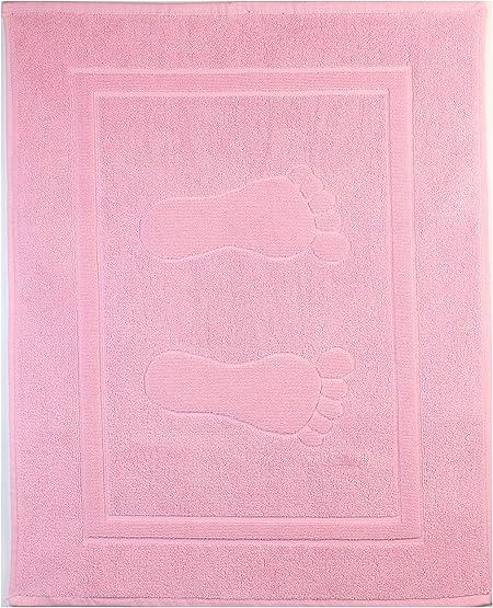 Natural History Gifts 800 G Alfombra de Baño, Algodón, Rosa Claro, 50 x 70 cm: Amazon.es: Hogar