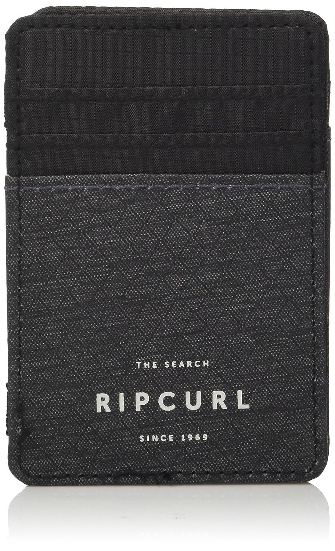 Rip Curl Men's Stacka Magic Wallet BWUKG2BLK1SZ