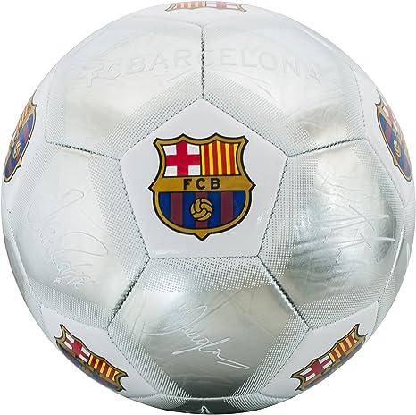 FCB Barcelona Kids bc04934 Barcelona Plata Firma tamaño 5 de ...