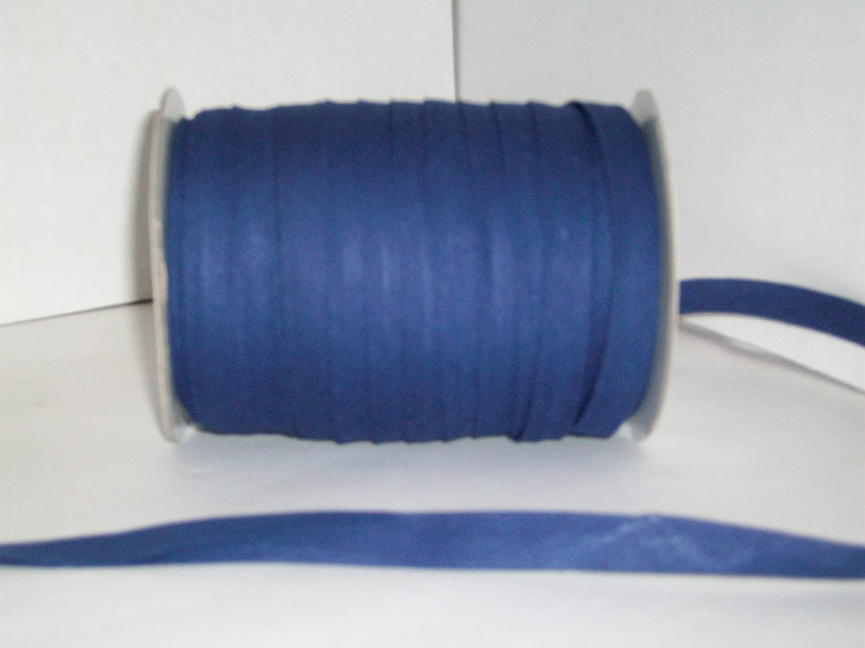 Light Blue Double Fold Bias Tape 50 Yds 1//2 Inch
