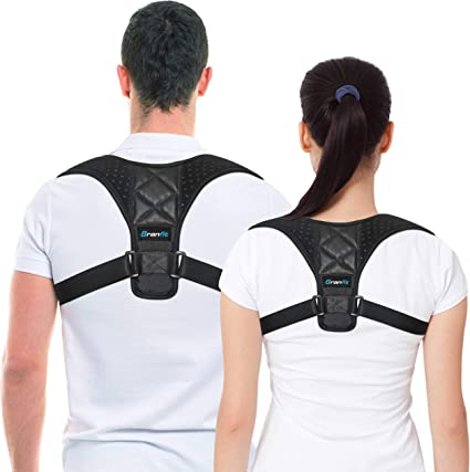 Amazon.com: Posture Corrector & Back Support Brace for Women and ...