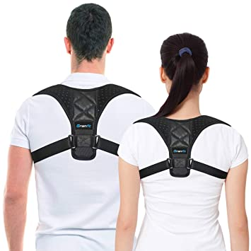 Best Posture Corrector \u0026 Back Support Brace for Women and Men by BRANFIT, Figure 8 Amazon.com: