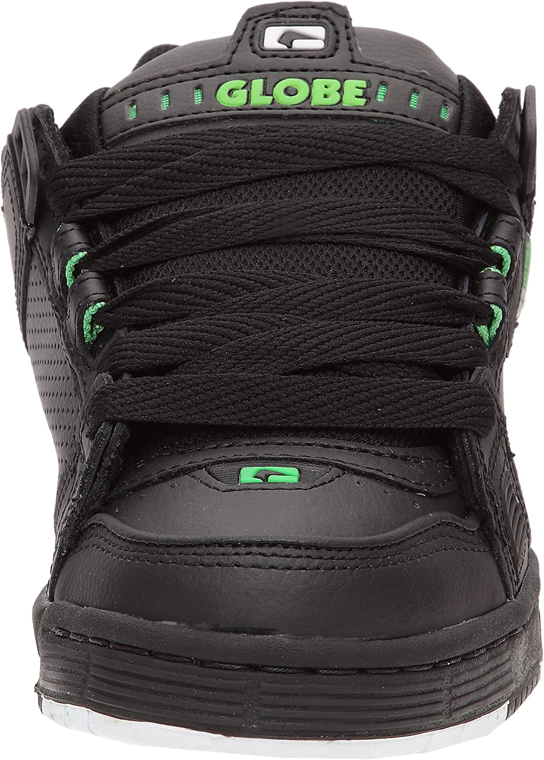 EU 47 US 14 Globe Sabre Skate Shoes Trainers Black Moto Green UK 13