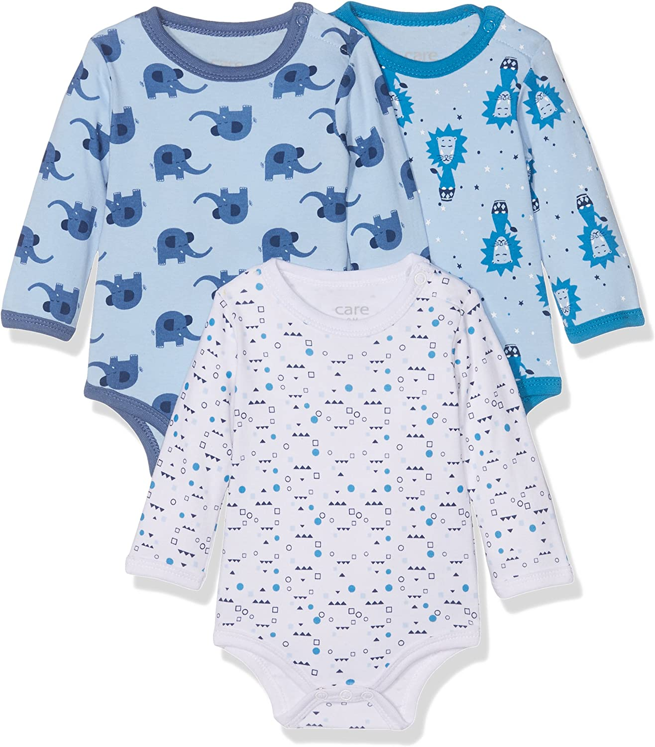 Care Baby Boys Bodysuit Pack of 3