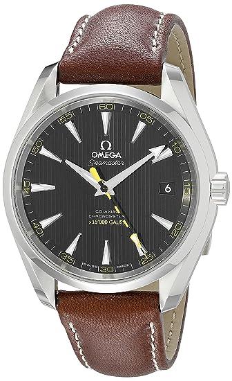 Omega 23112422101001 - Reloj de pulsera hombre, color Marrón