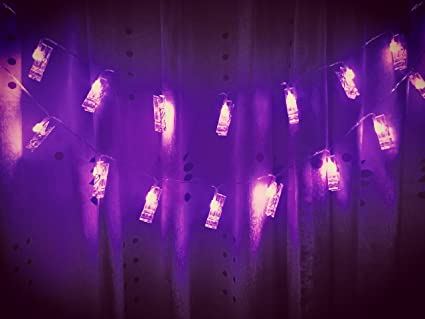 ETTP Led Bedroom Lights, Photo Clips String Lights, Fun And Cute  Decorations Lights,