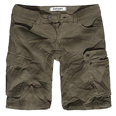b5868b91ffd4a0 behype. Herren Cargo Shorts Bermuda Kurze Hose 80-7681: Amazon.de ...