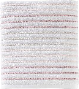 SKL Home by Saturday Knight Ltd. Tie Dye Stripe Bath Towel, Coral