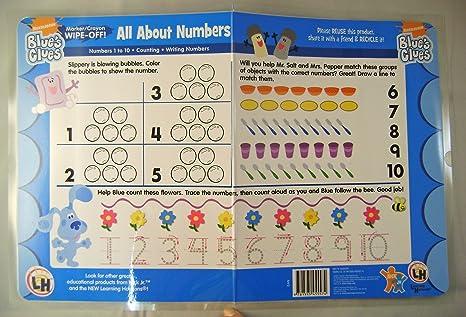 juego de desconocido 4 color azul y números de es de mesa de cartas All About