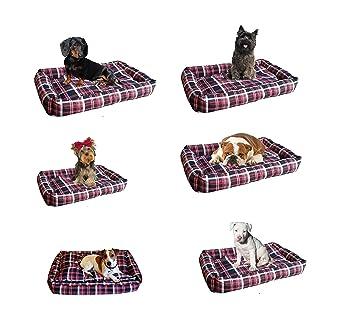 XtremeAuto® Barbour tartán Universal coche perro cama: Amazon.es ...